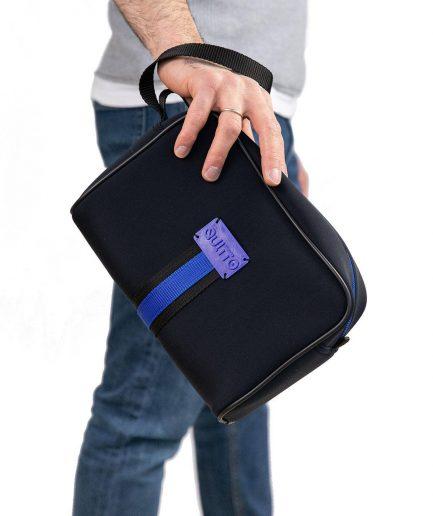 Beauty Neoprene Impermeabile Nero Quitto Bags
