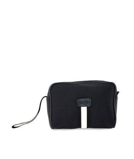 Beautybag Neoprene Impermeabile Fascia Bianca Quitto Bags - retr