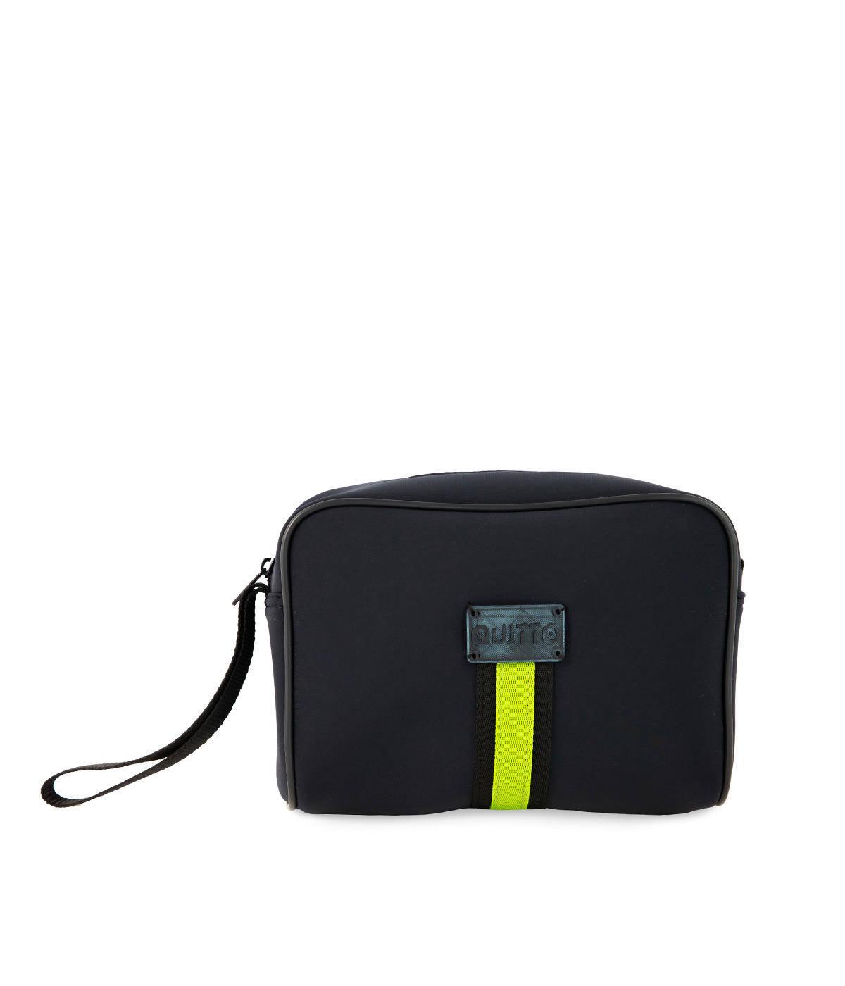 Beauty Neoprene Impermeabile Fascia Verde Quitto Bags Fronte