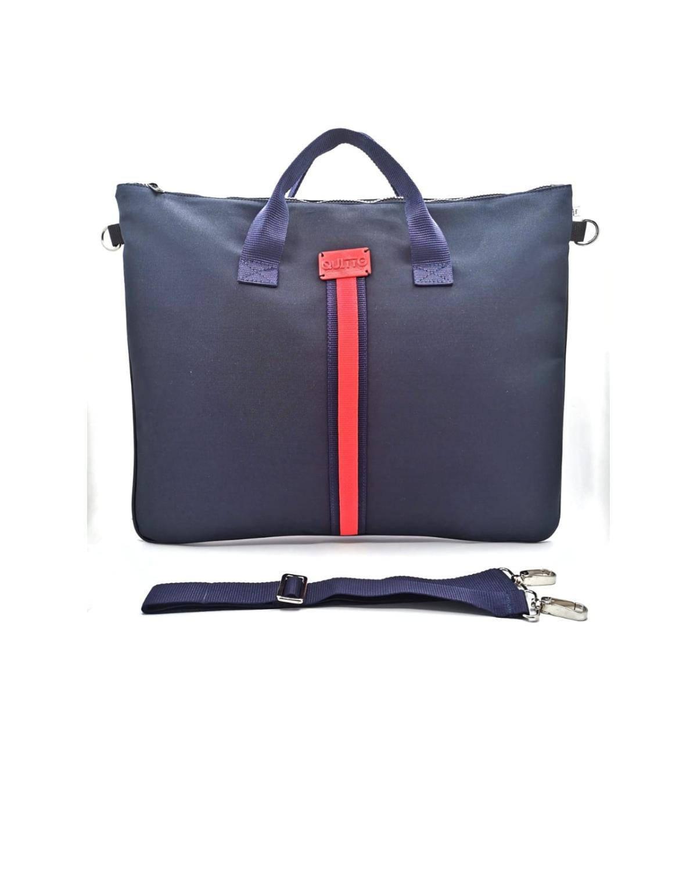maxi-bag-blu-riga-rossa-davanti