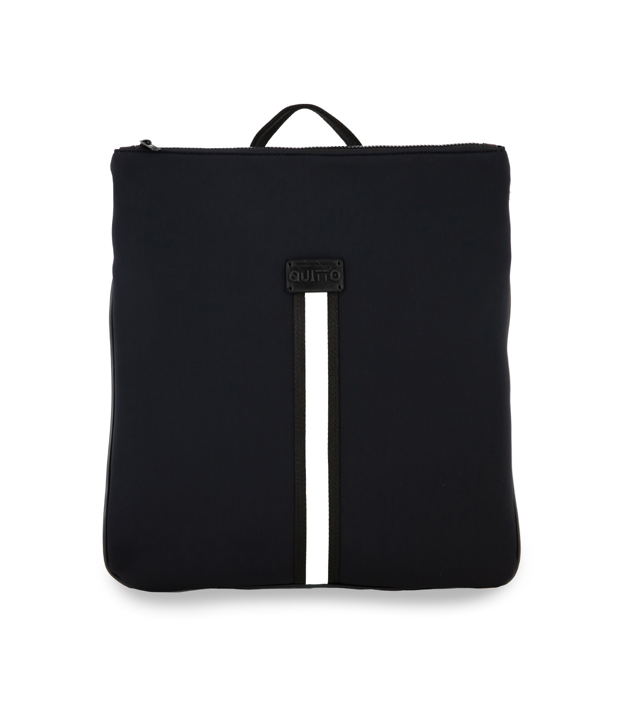 Zaino Porta Pc Neoprene Impermeabile Nero Quitto Bags