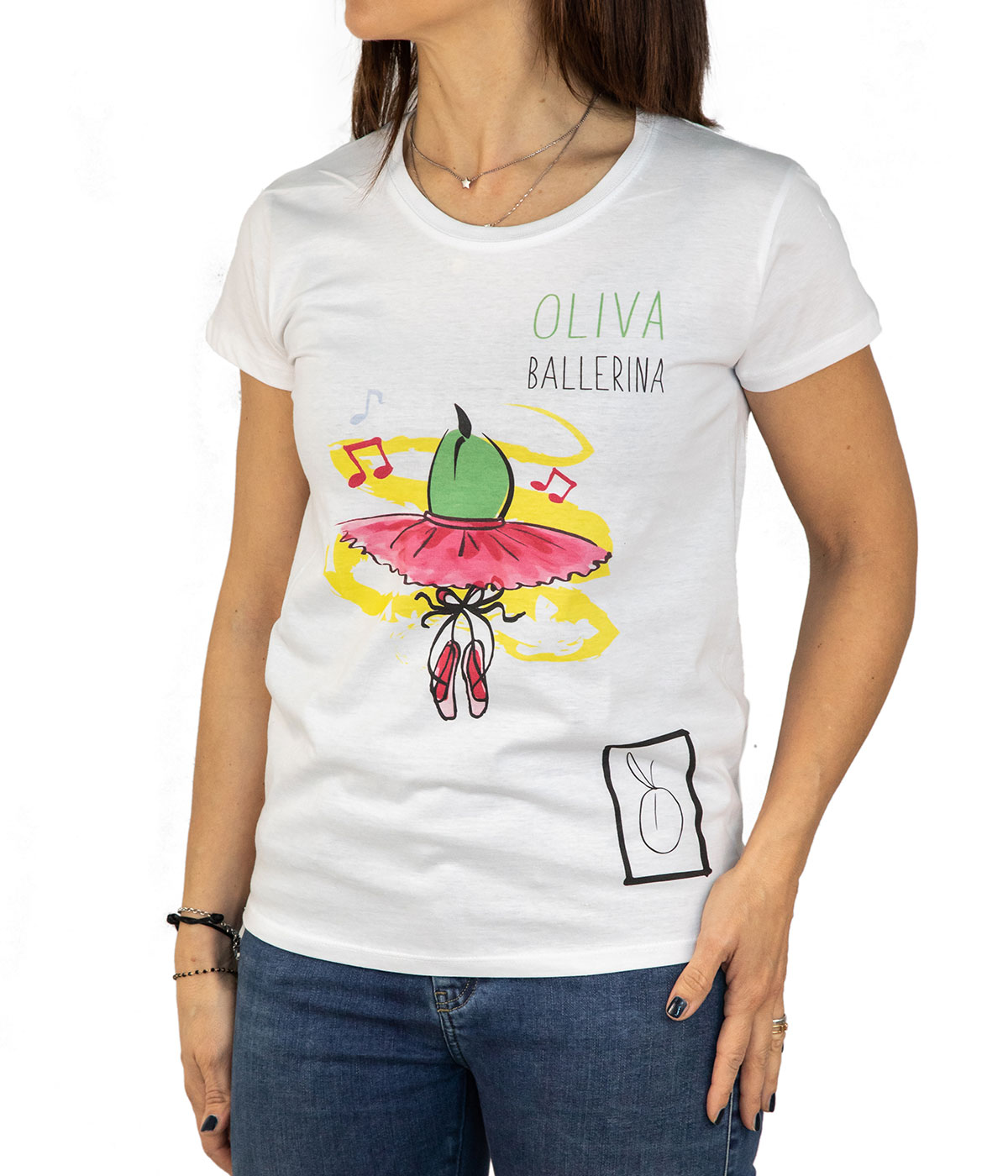 T-Shirt Donna Oh-Live!