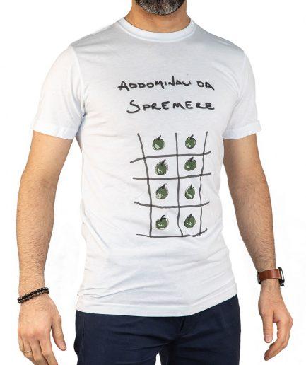 T Shirt Uomo Cotone naturale Addominali da Spremere